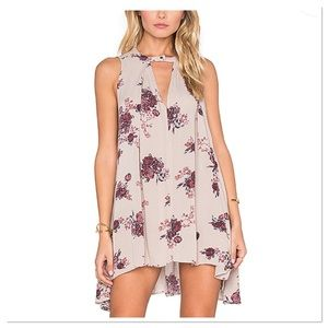 Free People Tree Swing Washed Stone Floral Dress